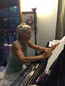 Louise lambert composing